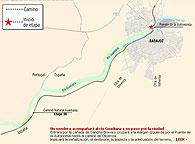 El proyecto incluye la señalización, el desbroce, la limpieza y la adecuación de ese camino, que entrará en la ciudad por la cañada de Sancha Brava, cruzará el río por el puente de la Autonomía y continuará por el Paseo Fluvial y La Granadilla hasta