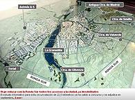 Ejecutado el desdoblamiento de la carretera de Cáceres (Ex-100) y a punto de concluir la obra de la carretera de Valverde (Ex-310), donde los dos sentidos de circulación ya están abiertos al tráfico, la ciudad de Badajoz ya tiene todas sus carretera